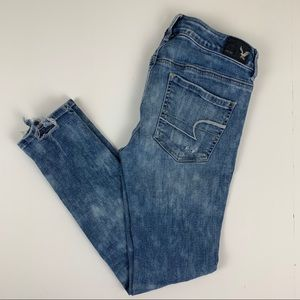 American Eagle Outfitters Distressed Jegging Ankle